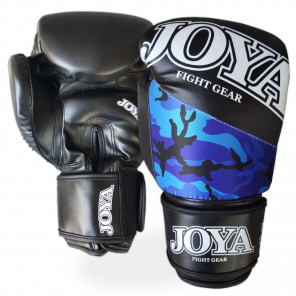 "Joya ""TOP ONE CAMO BLUE"" Kick-Boxing Glove (PU) (035A-blue-camo)"