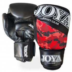 "Joya ""TOP ONE CAMO RED"" Kick-Boxing Glove (PU) (035A-Red-Camo)"