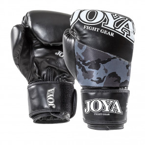 "Joya ""TOP ONE CAMO Black"" Kick-Boxing Glove (PU) (035A-Black-camo)"