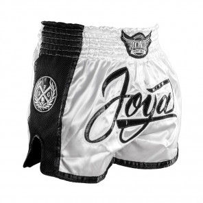 Joya 'Bangkok' Kickboxing Short - White Black