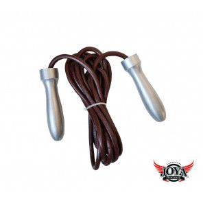 JOYA Jump Rope - Metal - Leather
