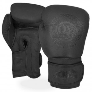 "Kick-Boxing Gloves JOYA ""Fight Fast"" (Leather) Black"
