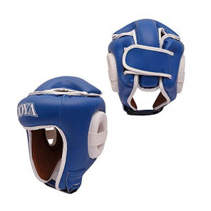 "Joya ""COMBAT"" Open Face Headgear Blue"