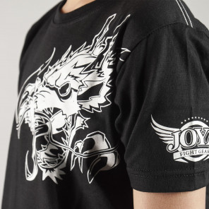 Joya T-Shirt White Dragon